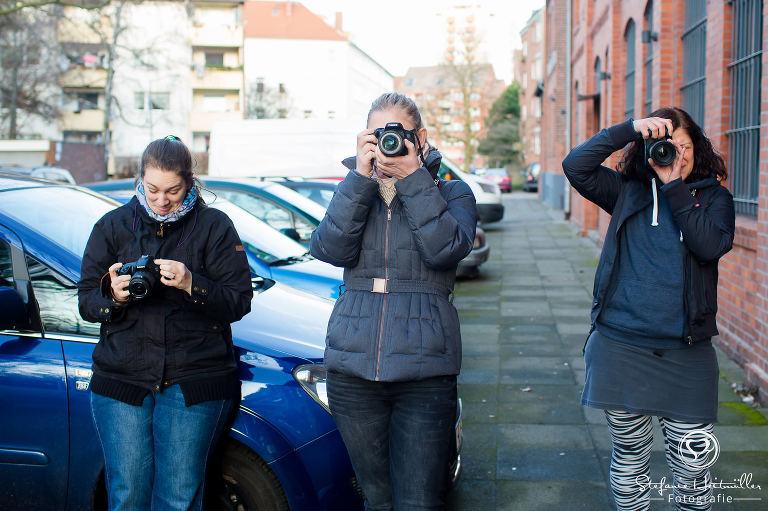 Teilnehmer beim Foto-Workshop in Hannover