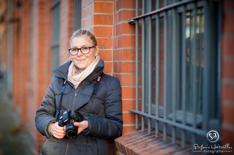 Teilnehmerin beim Fotokurs in Hannover für Einsteiger